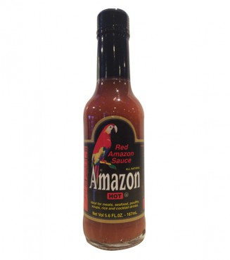 AMAZON HOT SAUCE RED 98ML