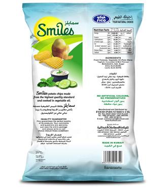 SMILES - YOGHURT, CUCUMBER & MINT